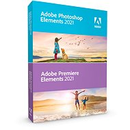 Adobe Photoshop Elements + Premiere Elements 2019 CZ (elektronická licence)