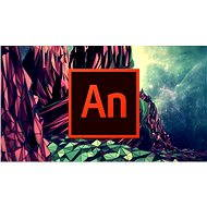 Animate Adobe Creative Cloud (Flash Pro) MP ML (incl. CZ) Commercial (12 months) (Electronic License