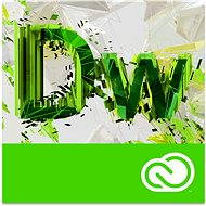 Adobe Dreamweaver Creative Cloud MP ML (incl. CZ) Commercial (1 month) (Electronic License) - Graphics Software