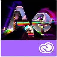 Adobe After Effects Creative Cloud MP team ENG Commercial (12 Months) (Electronic License)