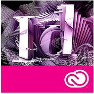 Adobe InDesign Creative Cloud MP ML (incl. CZ) Commercial (1 Month) (Electronic License) - Graphics Software