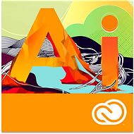 Adobe Illustrator Creative Cloud MP ML (incl. CZ) Commercial (12 months) (Electronic License) - Electronic license