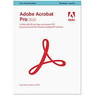 Adobe Acrobat Pro WIN/MAC ENG (BOX) - Office Software