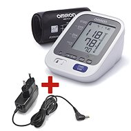 OMRON M6 Comfort with Intelli cuff + power source