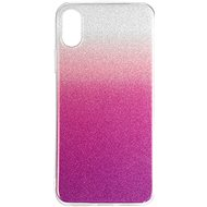 Epico Gradient for iPhone X / iPhone XS - Silver/Purple - Mobile Case