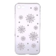 Epico White Snowflakes for iPhone 7/8 - Mobile Case