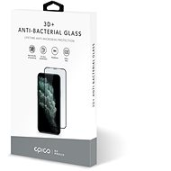 Epico Anti-Bacterial 3D+ Glass, iPhone X/XS/11 Pro, Black - Glass Protector