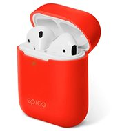 Epico Silicone AirPods Gen 2 - Red - Headphone Case