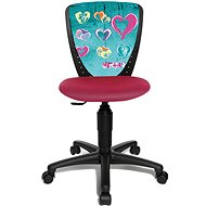 TOPSTAR S'COOL NIKI heart theme - Children's Chair