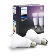 Philips Hue White and Colour Ambiance 10W E27 Set 2-Pack