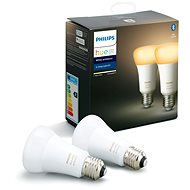 Philips Hue White Ambiance 9.5W A60 set 2pcs - LED bulb