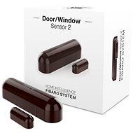 FIBARO Window/Door Sensor 2 Brown - Door and Window Sensor