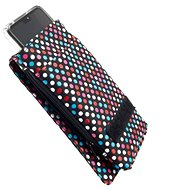 FIXED Club with Velcro Closure, size 3XL, Rainbow Dots motif - Mobile Phone Case
