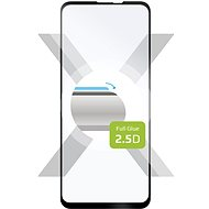 FIXED FullGlue-Cover for Motorola One Vision black - Glass protector