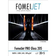 FOMEI Jet PRO Gloss 205 A4 Photo Pack - 20pcs + 5pcs free - Photo Paper