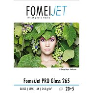 FomeiJet PRO Gloss 265 A4 - pack of 20pcs + 5pcs free
