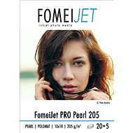 FOMEI Jet PRO Pearl 205 13x18 - package 20pcs + 5pcs free - Photo Paper