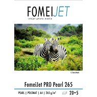 A4 FomeiJet PRO Pearl 265, 20+5 Free Sheets - Photo Paper