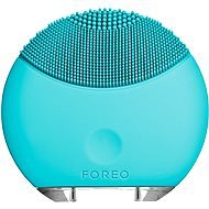 FOREO LUNA Mini facial cleansing brush, Turquiose Blue
