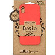 Forever Bioio for iPhone X/XS, Red - Mobile Case