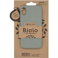 Forever Bioio for iPhone X/XS, Green - Mobile Case