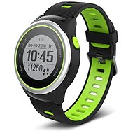 Forever SW-600, Black, Silver and Green - Smartwatch