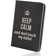 """Forever Fashion Keep Calm Universal 7-8"""" Black - Tablet Case"""