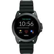 Fossil FTW4047 Gen 5E 44mm Black Silicone - Smartwatch