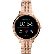 Fossil FTW6073 Gen 5E 42mm Rose Gold Stainless Steel - Smartwatch