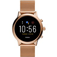 Fossil FTW6062 Gen5 Julianna HR 44mm Rose Gold Stainless Steel Mesh - Smartwatch