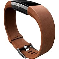Fitbit Charge 2 Band Leather Brown Large - Watch band