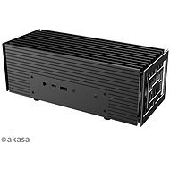 Akasa Turing A50 Compact Fanless Case for ASUS® PN50 with AMD Ryzen Processors™ 4000/A-NUC62-M1B - PC Case