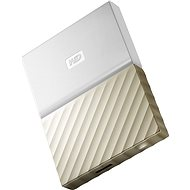 "WD 2.5"" My Passport Ultra Metal 2TB white/gold - External hard drive"
