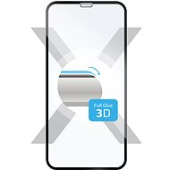 FIXED 3D Full-Cover for Samsung Galaxy A8 (2018) Black - Glass protector