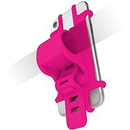 CELLY EASY BIKE for Phones, to Mount on the Handlebar, Pink
