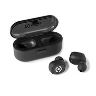 CELLY TWINS Black - Headphones with Mic