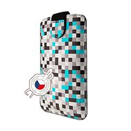 FIXED Soft Slim with Closure 5XL+ Grey Dice - Mobile Phone Case