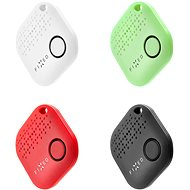 FIXED Smile 4-PACK Black/White/Red/Green - Bluetooth chip tracker