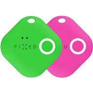 FIXED Smile with Motion Sensor, DUO PACK - Green + Pink - Bluetooth chip tracker