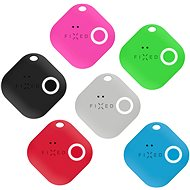 FIXED Smile with motion sensor 6-PACK, black grey red blue green pink - Bluetooth chip tracker