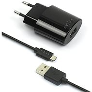 FIXED Rapid Charge Travel MicroUSB black - Charger