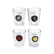 Game of the Throne - Glasses (4x) - Glass for Cold Drinks