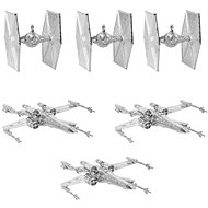 Star Wars - Silver Decorations (6x) - Christmas decorations