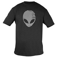 Dell - Alienware Distressed Head Gaming Gear T-Shirt Gray - M - T-Shirt