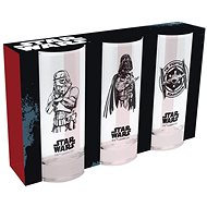 Star Wars - 3 Glasses - Glass for Cold Drinks