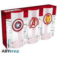 Marvel Heroes - 3x Glasses