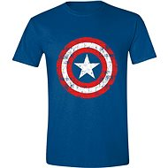 Captain America Cracked Shield - T-Shirt - T-Shirt