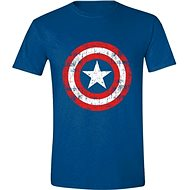 Captain America Cracked Shield - T-Shirt S - T-Shirt