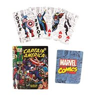 Marvel Comic Book - playing cards