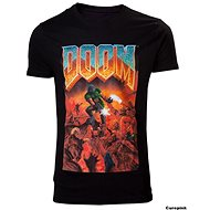 DOOM Classic Box Art T-Shirt XL - T-Shirt